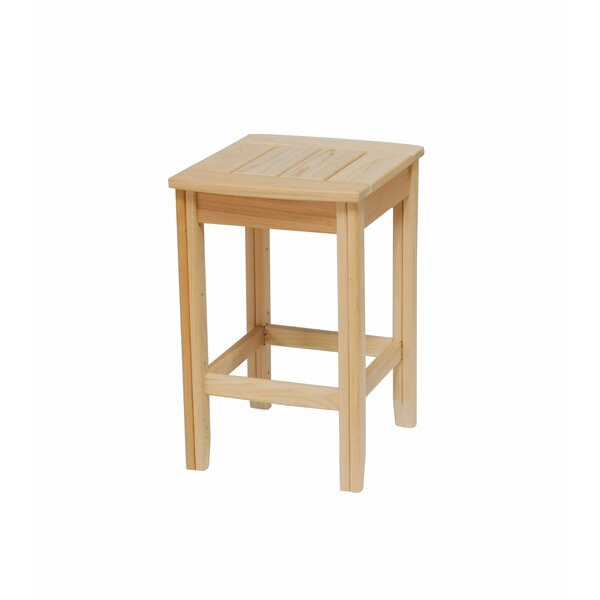 Stiefel Solid Wood Side Table by August Grove