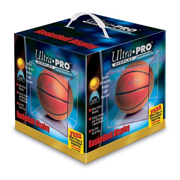 UV Basketball Display Case by Ultra Pro