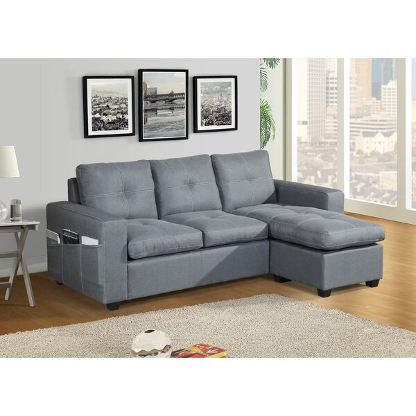 Fanelli Reversible Stationary Sectional By Ebern Designs Top Reviews