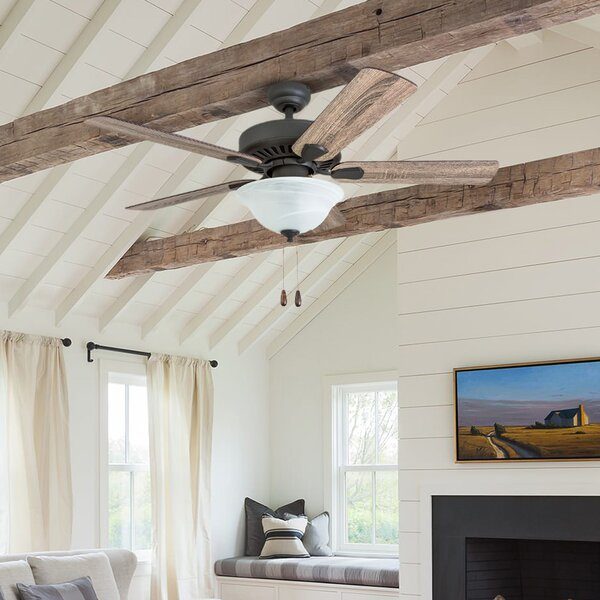 42 Tyus 5 Blade LED Ceiling Fan by Millwood Pines