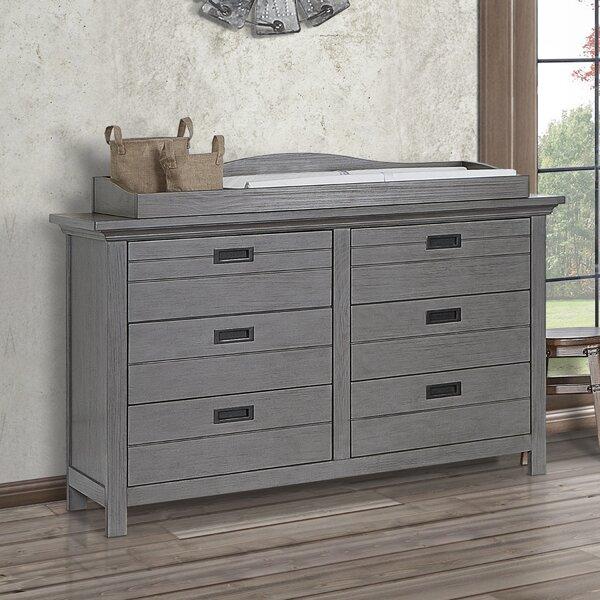 Waverly 6 Drawer Double Dresser by Evolur