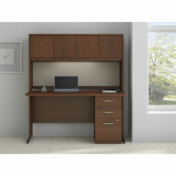 Series C Elite Desk with Hutch by Bush Business Furniture