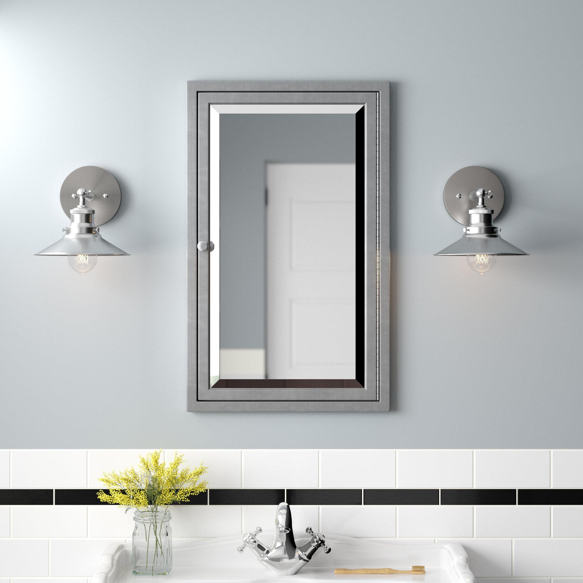Trent Austin Design Gould Recessed Framed Medicine Cabinet With 3 Adjustable Shelves Reviews