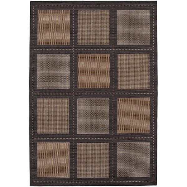 Zachary Cocoa Indoor/Outdoor Area Rug by Andover Mills