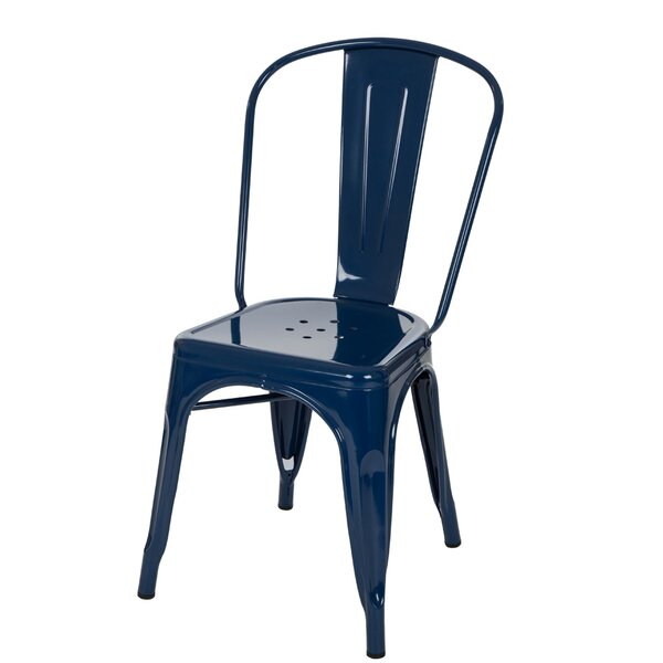Metail Chair Vintage Dining Chair (Set of 4) by Glitzhome
