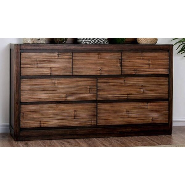 Sanders 7 Drawer Double Dresser by Mutsumi Home Studio