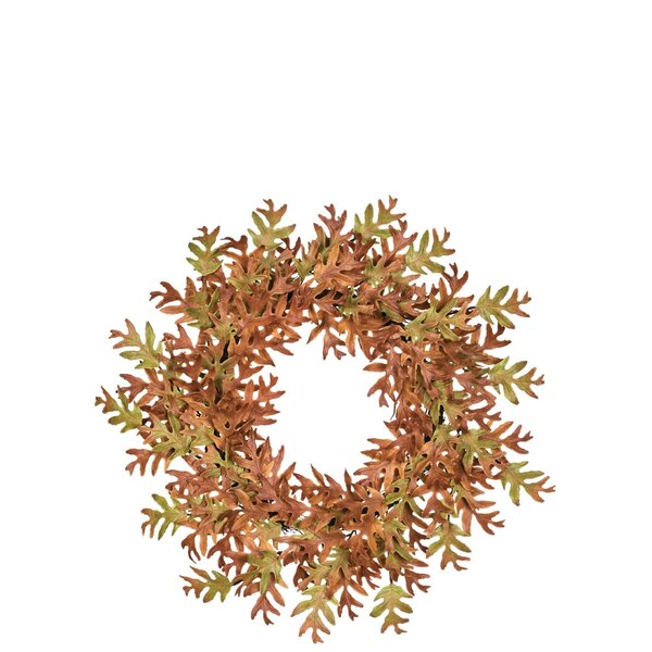 Autumn Leaf 26 Polyethylene Wreath by The Holiday Aisle