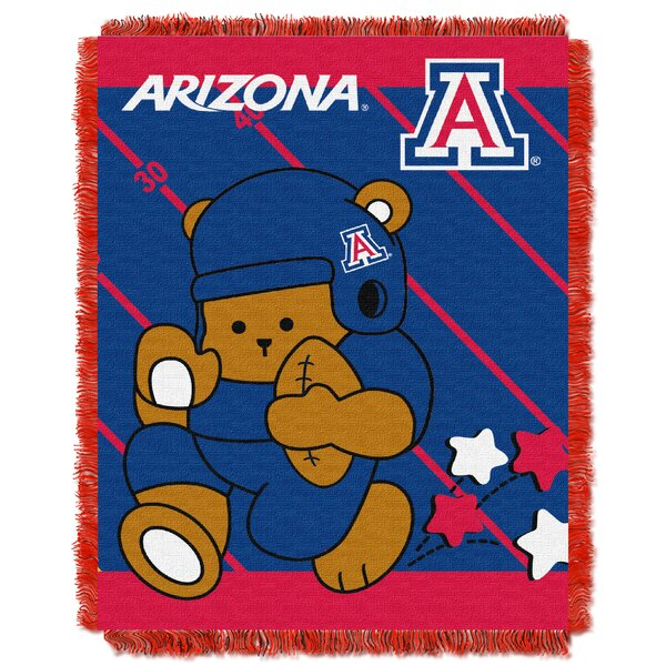 Collegiate Arizona Baby Throw by Northwest Co.
