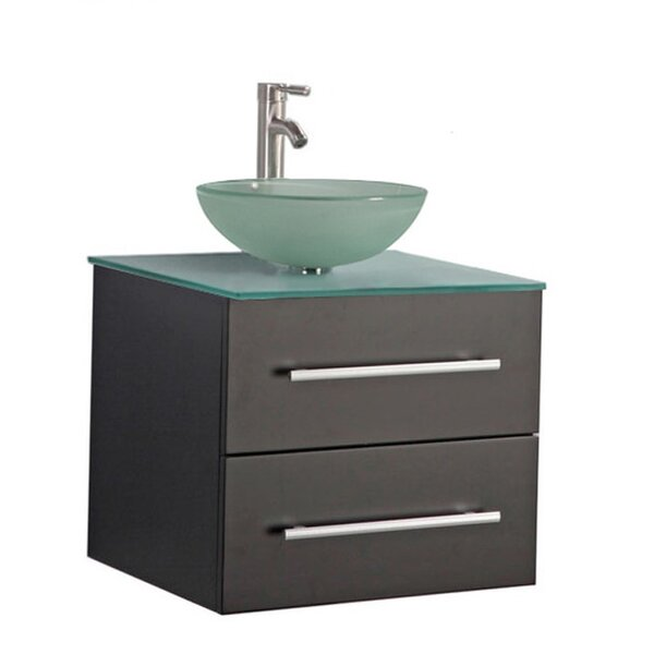 Prange Wall Mounted Modern 36 Single Bathroom Vanity Set by Orren Ellis