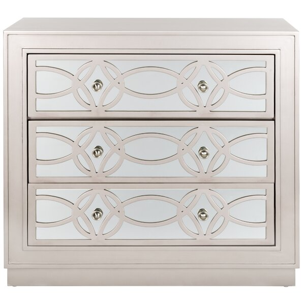 Dukinfield 3 Drawer Accent Chest by Rosdorf Park Rosdorf Park