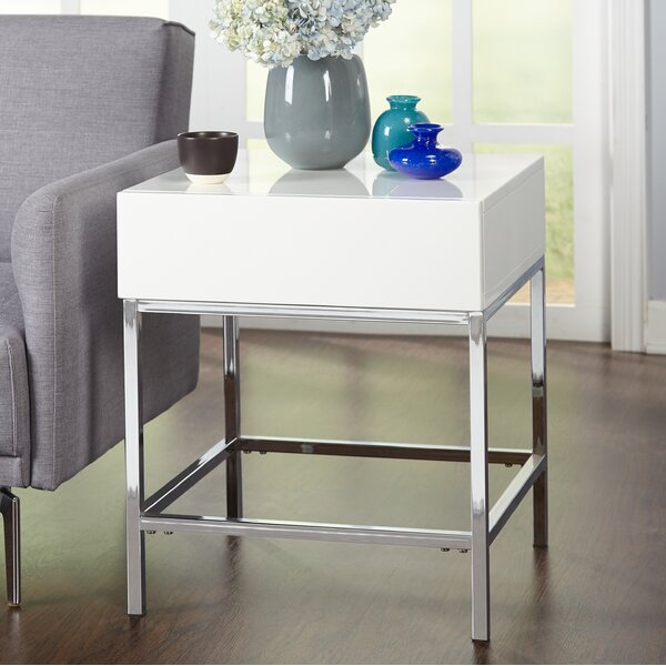 Woodway End Table by Orren Ellis