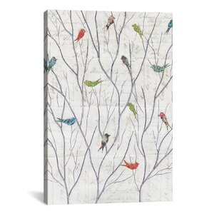 'Summer Birds Background I' Photographic Print by East Urban Home