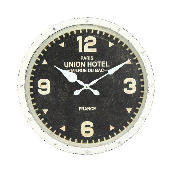 Itzel Union Hotel 16 Wall Clock by 17 Stories
