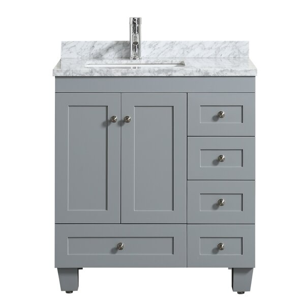 Kyndra Transitional 31 Single Bathroom Vanity Set by Darby Home Co
