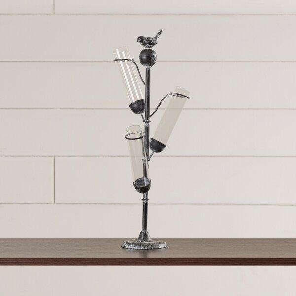 Songbird 3-Stem Vase by August Grove