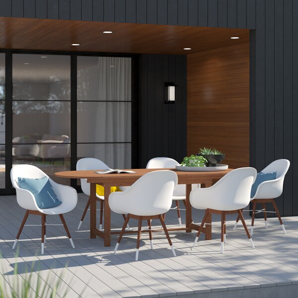 Colyer 7 Piece Dining Set By Mercury Row
