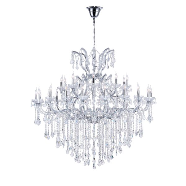 Orr 31-Light Candle Style Tiered Chandelier by Astoria Grand Astoria Grand