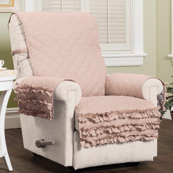 Ruffled Box Cushion Recliner Slipcover By House Of Hampton
