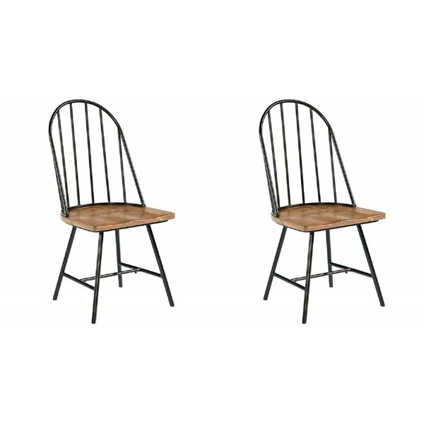 Heiser Dining Chair (Set of 2) by Gracie Oaks