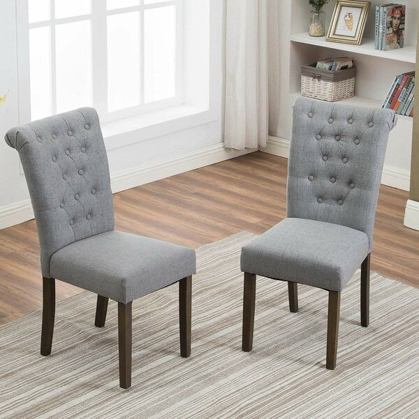 Sariya Upholstered Dining Chair (Set of 2) by Gracie Oaks