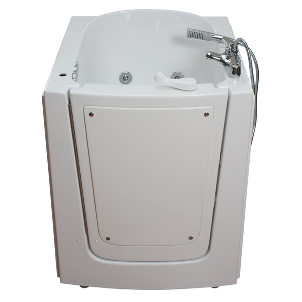 Front Entry Air and Hydro Massage Whirlpool Walk-In Tub by Ella Walk In Baths