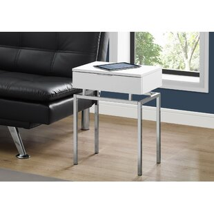 Harva End Table with Storage by Mercer41