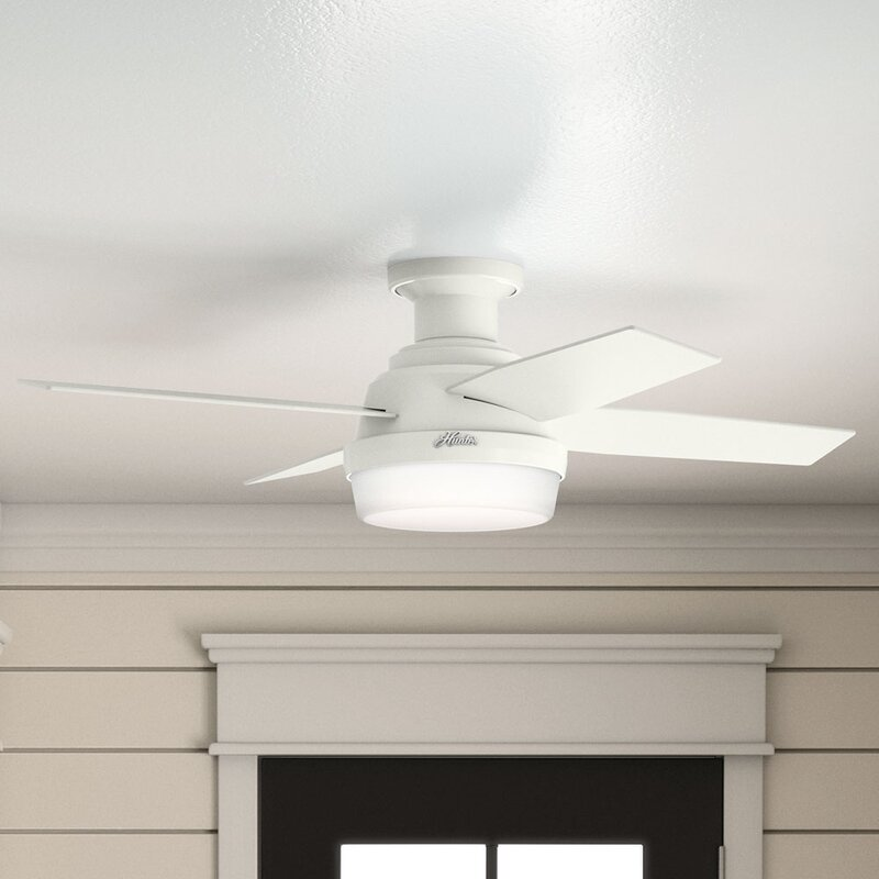 Dempsey Low Profile 4 Blade Ceiling Fan