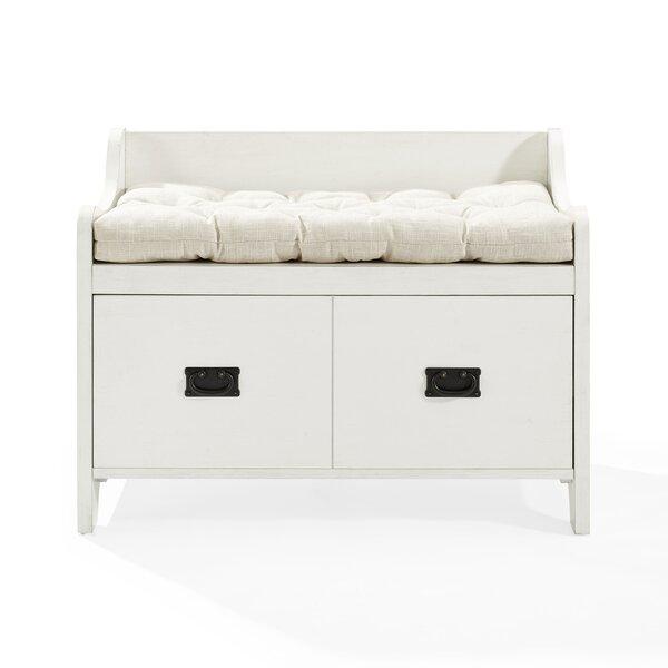 Gracie-Mai Upholstered Storage Bench by Gracie Oaks Gracie Oaks