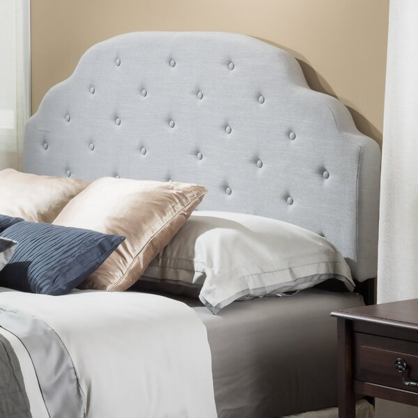 Lyssa Upholstered Panel Headboard by Home Loft Concepts
