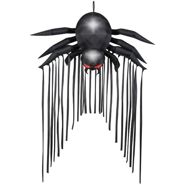 Door Archway Spider Inflatable by The Holiday Aisle