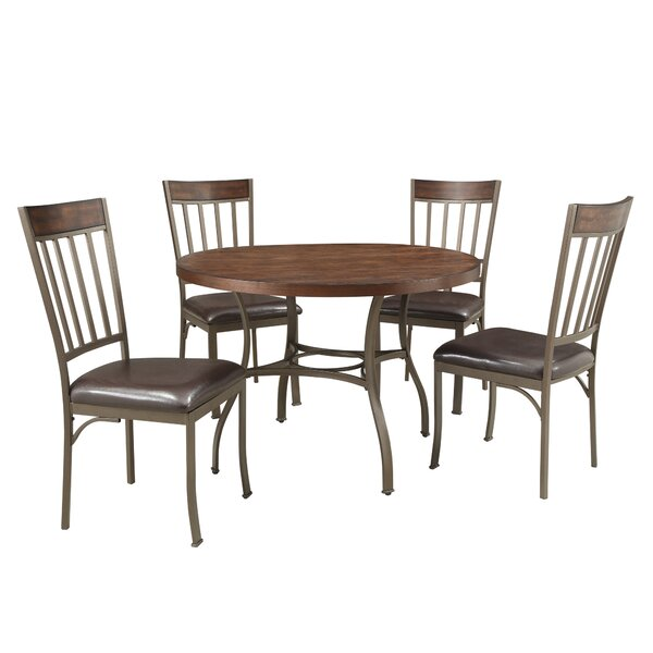 Tong 5 Piece Dining Set by Williston Forge
