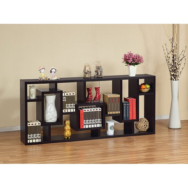 Chalgrave Display Cabinet Geometric Bookcase By Wrought Studio