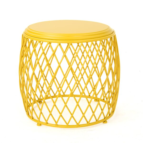 Quiles Metal Side Table by Wrought Studio