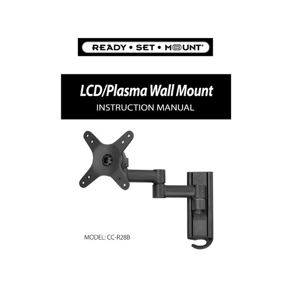 Extending Arm/Tilt/Swivel/Pan Wall Mount for 13 - 30 LCD by Ready Set Mount