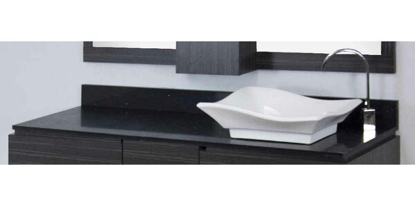 Dunamuggy 60 Wall-Mounted Single Bathroom Vanity Set by Royal Purple Bath Kitchen