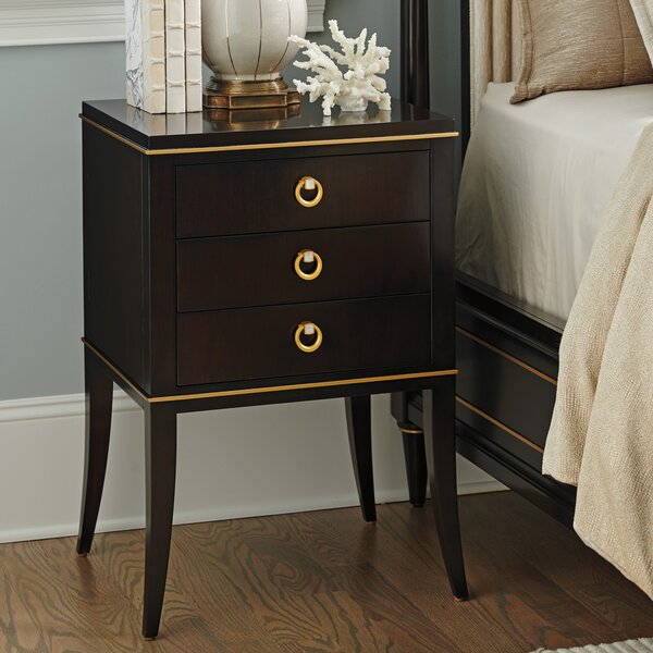 Carlyle Bella 3 Drawer Nightstand by Lexington
