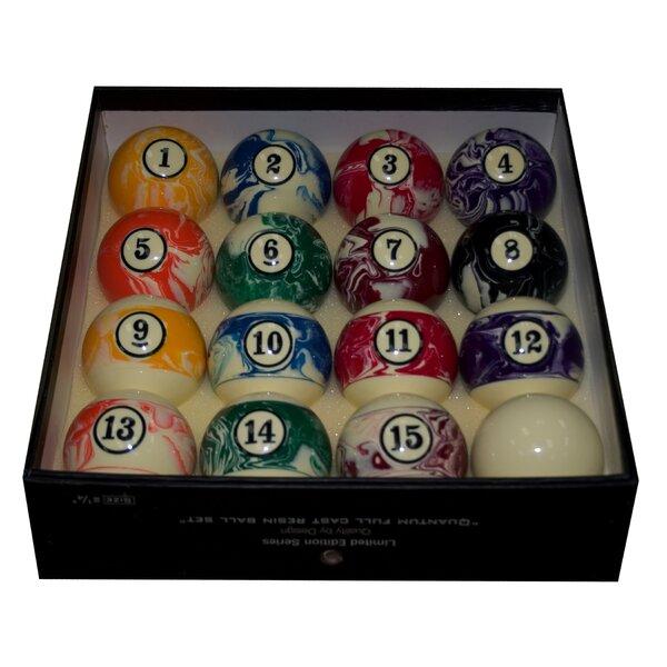 Marbelized Pool Ball Set by Mr. Billiard