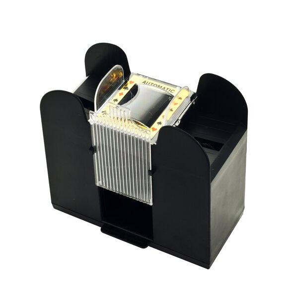 Six Deck Automatic Card Shuffler by Trademark Global
