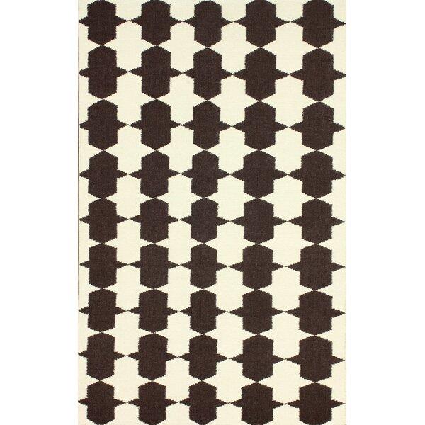 Remade Handwoven Flatweave Wool Beige/Brown Area Rug by nuLOOM