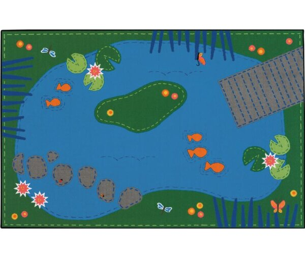 Tranquil Pond Kids Rug by Kids Value Rugs