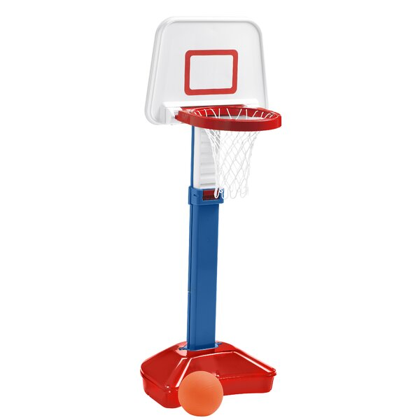 Jump N Slam Basketball Set by American Plastic Toys