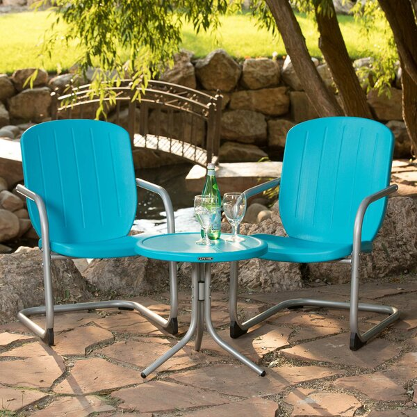 Retro 3 Piece Seating Group by Lifetime