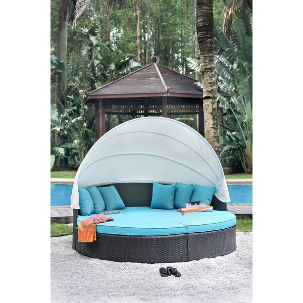 Decimus Patio Daybed With Cushions By Orren Ellis by Orren Ellis 2020 Online
