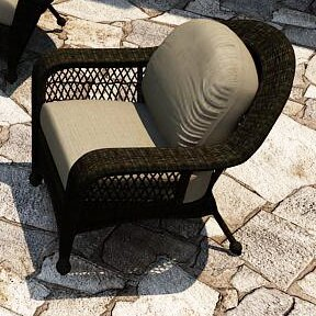 Catalina Patio Chair with Sunbrella Cushions by Forever Patio