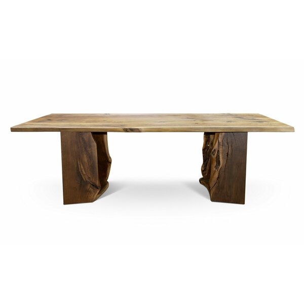 Neihart Solid Wood Dining Table by Foundry Select