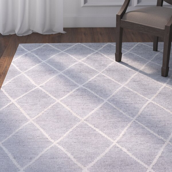 Pearl Hand-Knotted Ivory Area Rug by Darby Home Co