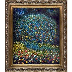 Apple Tree I by Gustav Klimt Framed Painting by Tori Home