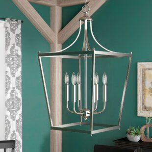 Great deal Brickyard 6-Light Pendant By Three Posts