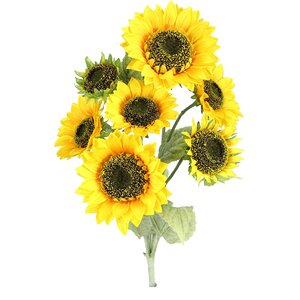7 Stems Atrtificial Blooms Sunflower