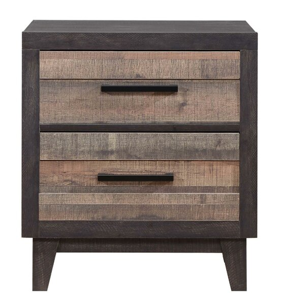 Kaye 2 Drawer Nightstand By Union Rustic